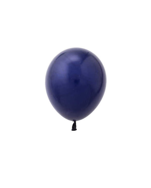 Navy Mini Balloons