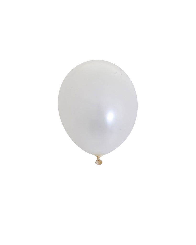 Pearl White Mini Balloons