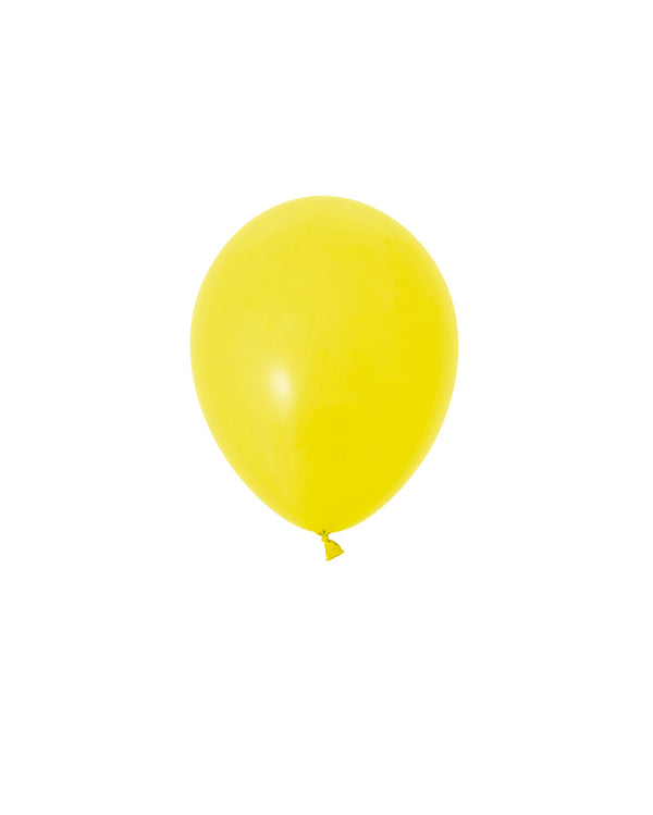 Yellow Mini Balloons