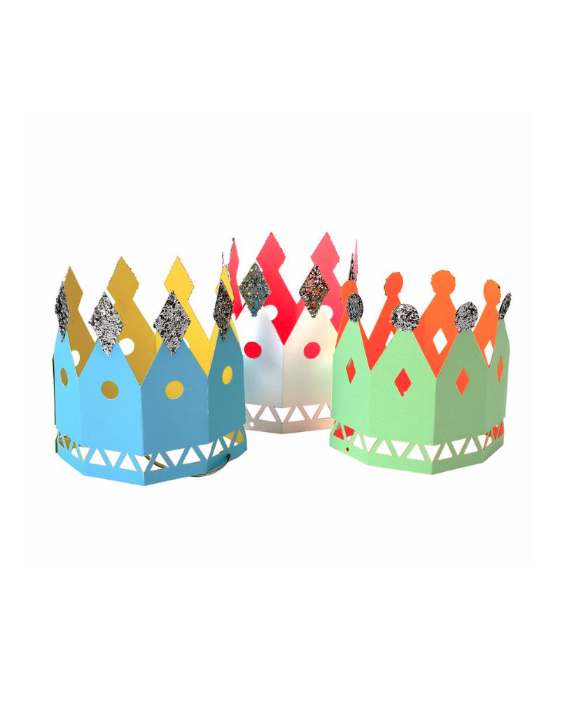 Paper Party Crowns