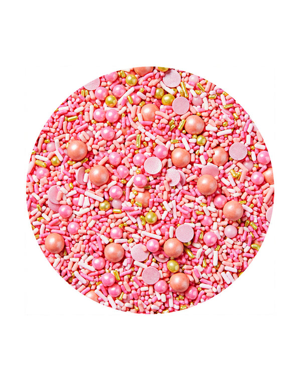 Sucre x Poppies Pink Shimmer Sprinkles