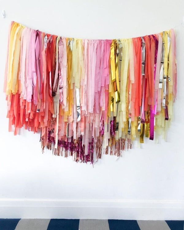 Summer Sparkle Streamer Hanging
