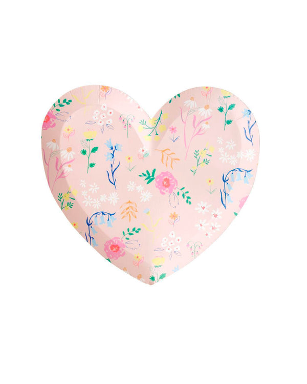 Wildflower Heart Large Plate