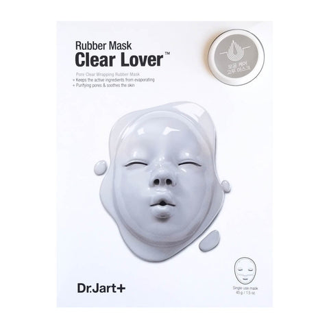 Dr. Jart Dermask Clear Lover Rubber Mask (Expires 7/2018)