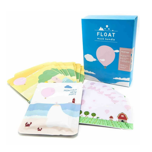 Float Mask Bundle (8x face, 8x nose, 1x foot)