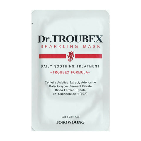 Tosowoong Dr. Troubex Sparkling Sheet Mask Sheet Mask - Crystal Cove Beauty