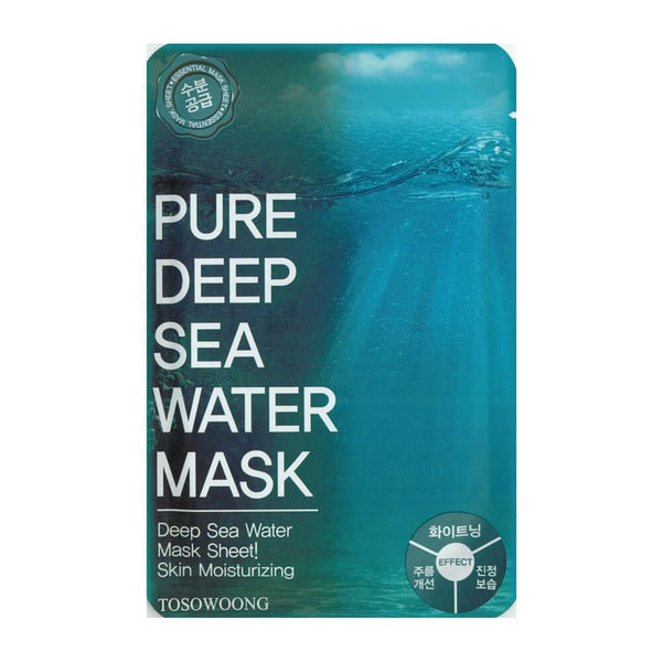Tosowoong Pure Deep Sea Water Mask Pack Sheet Sheet Mask - Crystal Cove Beauty