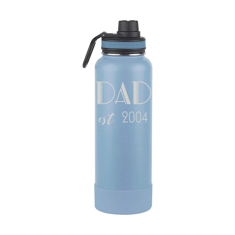 Thermoflask Gift for Dad with Est. Dates (1649_2)