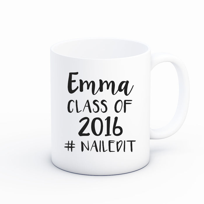 #Nailed It Graduation Coffee Mug