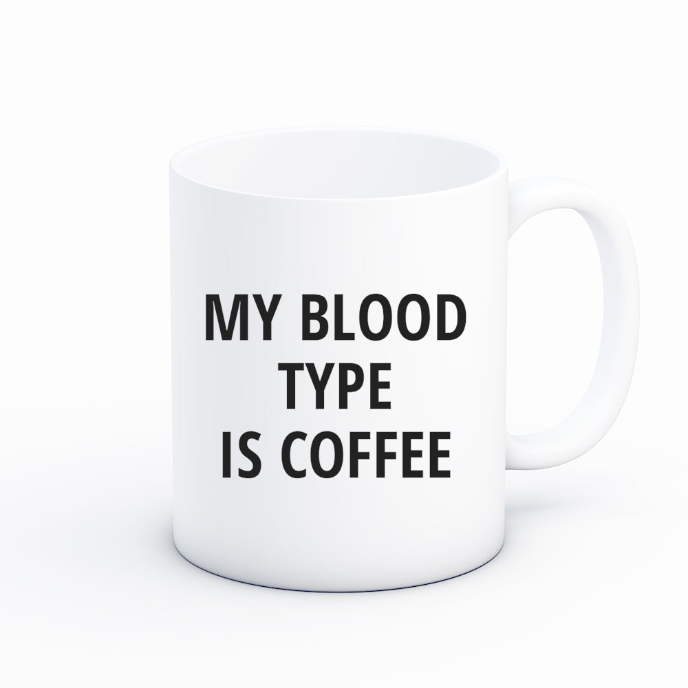 Blood Type = Coffee