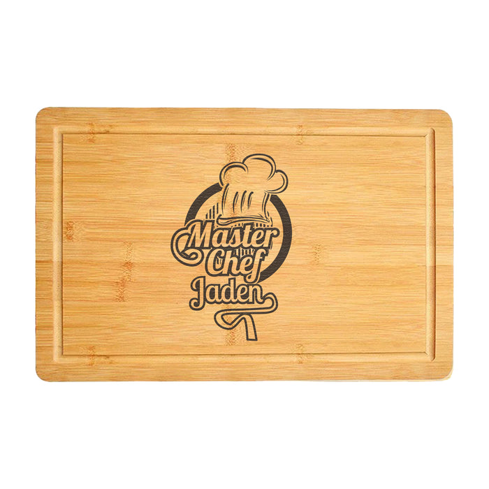 Engraved Wood Cutting Board Gift for Grillmaster (3857)