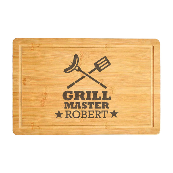 GrillMaster Chopping Board Gift for Dads & Chefs (3860)