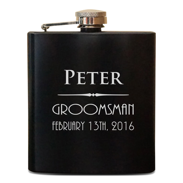 Groomsmen Flask Set (925)