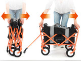 Foldable Cart Wagon with Removable Bag Doppelganger Outdoor Australia Caravan Camping Tent