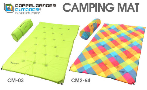 Double Self Inflating Camping Mat (2 person) Doppelganger Outdoor Australia Caravan Camping Tent