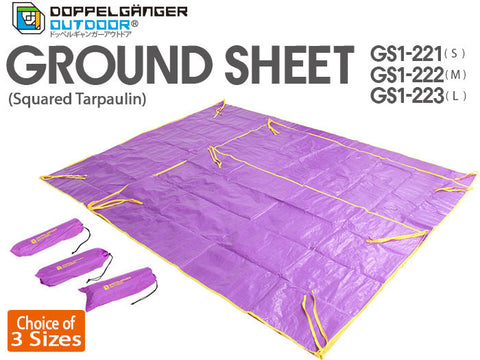 Ground Sheet Tarp (for 3-6 person tents) Doppelganger Outdoor Australia Caravan Camping Tent