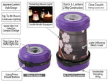 2-in-1 Pop-up LED Lantern / Flashlight (Candle Mode) Doppelganger Outdoor Australia Caravan Camping