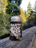 Party Wide Open Coozie