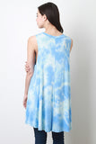 Pastel Tie Dye Trapeze Dress