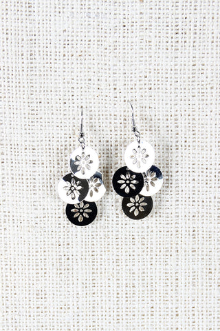 Tiered Blossoms Earrings