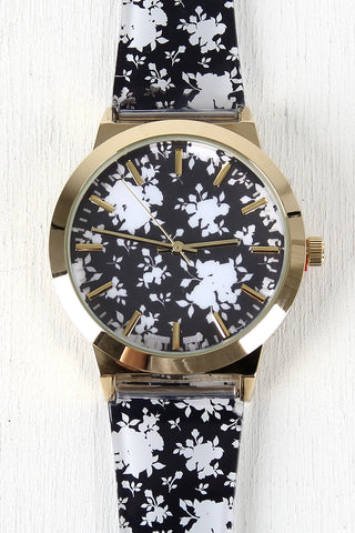 Silhouette Roses Watch