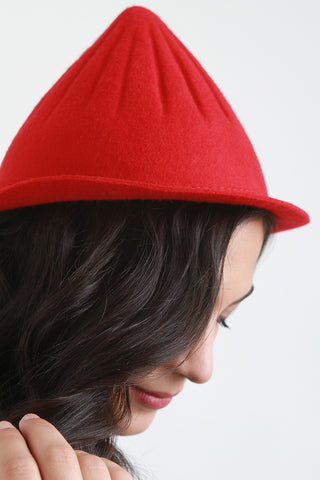 Pointy Wool Hat