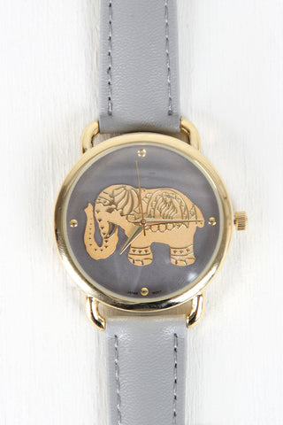 Adorned Elephant Watch