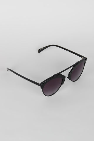 Top Bridge Butterfly Wing Sunglasses