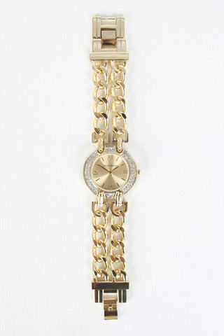 Double Chain Watch