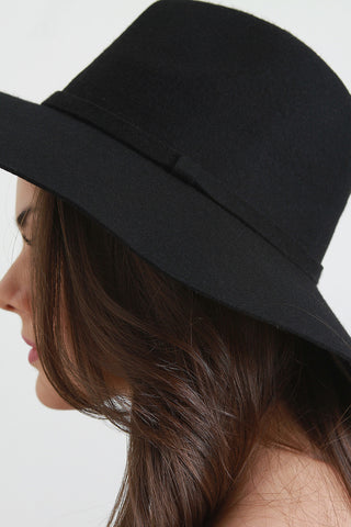 Wool Panama Floppy Hat