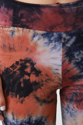 High Waisted Tie Dye Pants