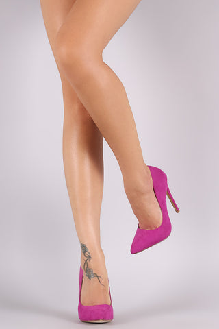 Liliana Suede Pointy Toe Pump
