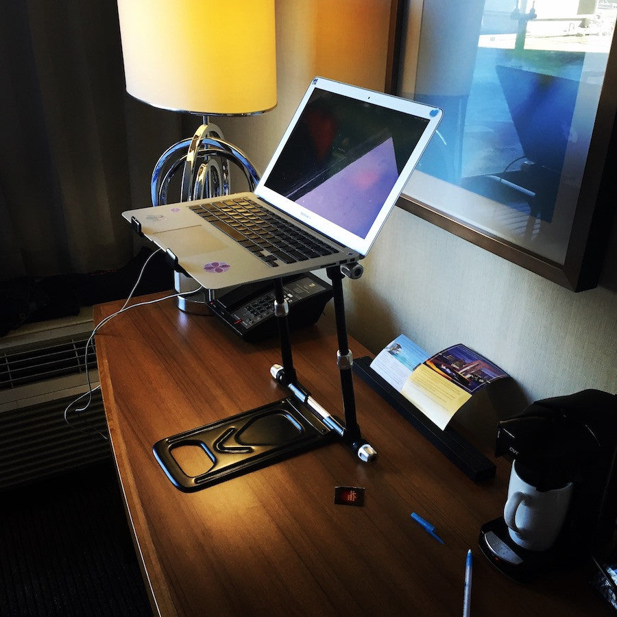 Tips for keeping business hotel stays ergonomic.