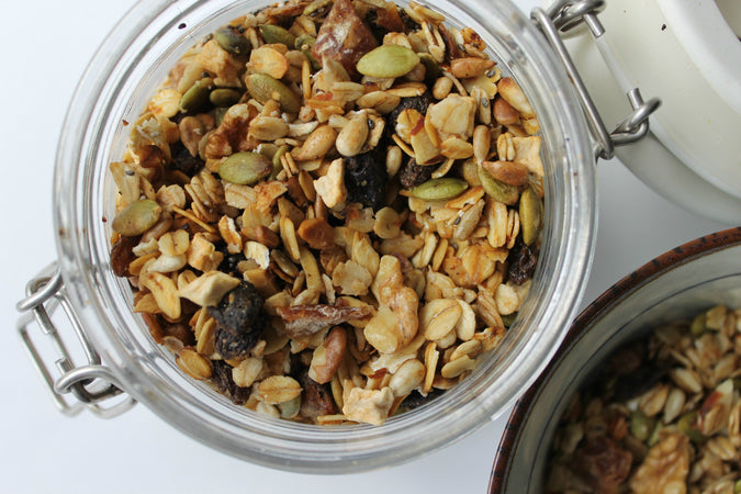 Recipe: Easy Custom Stovetop Granola
