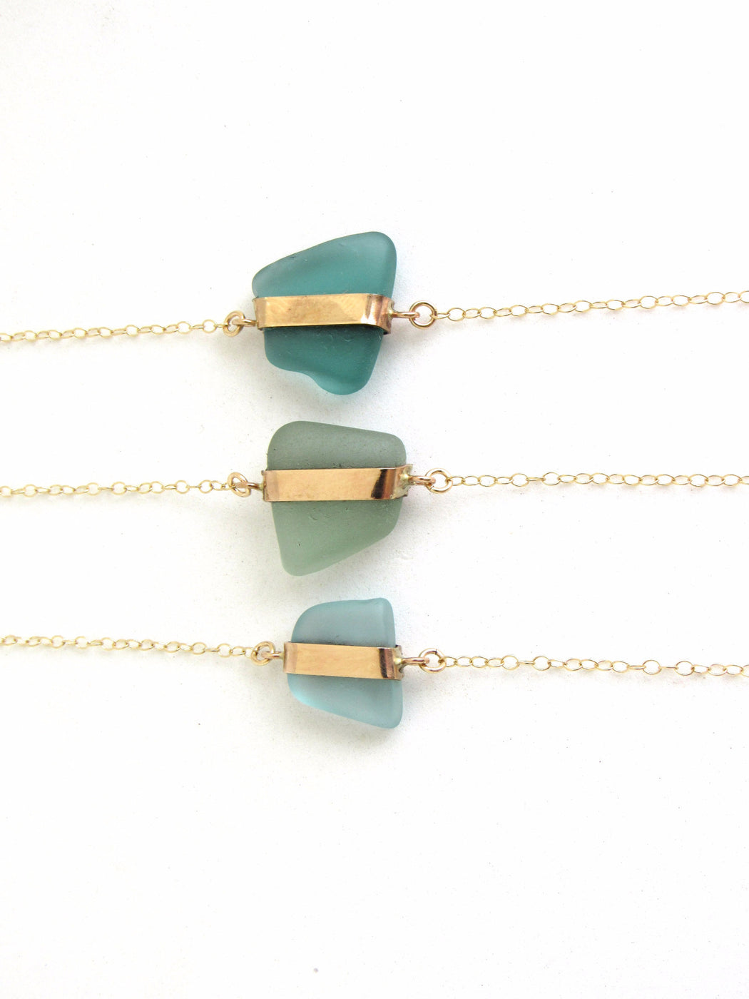 Sea Glass Bracelets - Ingrid Caduri Jewelry
