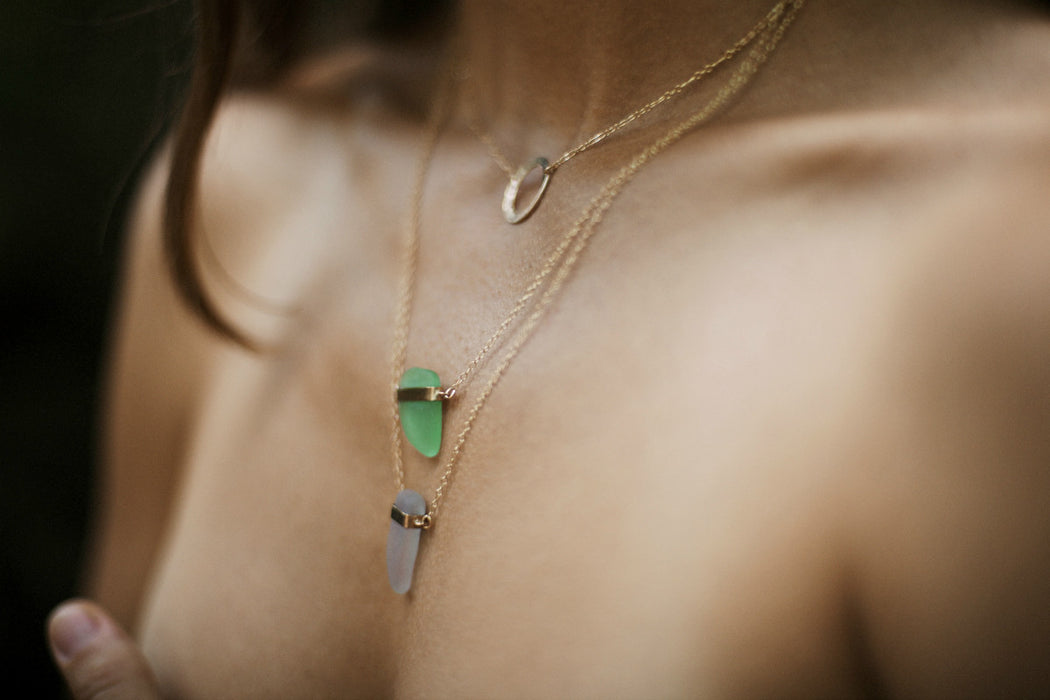 Sea Glass Necklaces - Ingrid Caduri Jewelry