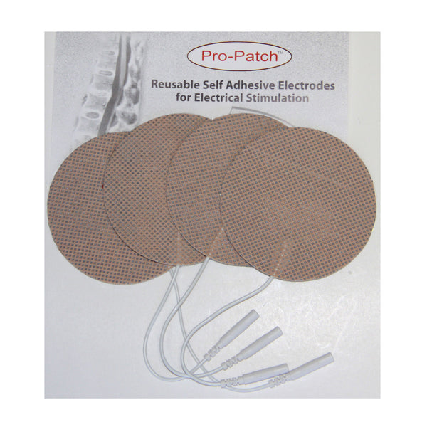 "Tan Cloth Backed Electrodes - 3"" by ProMed - ProM-033"