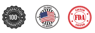 100% Guaranteed, U.S.A. Mad Gel Adhesive, FDA Listed