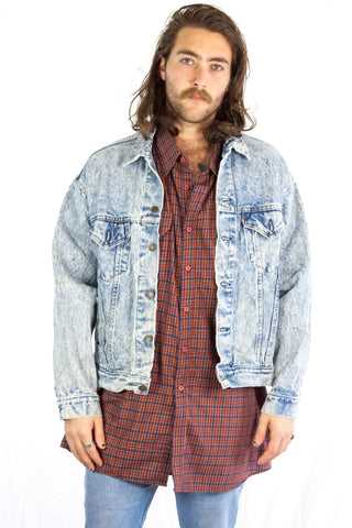 Levis Acid Denim Jacket