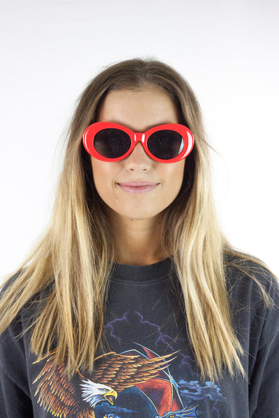Red Cobain Sunglasses
