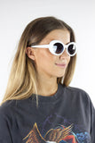 White Cobain Sunglasses