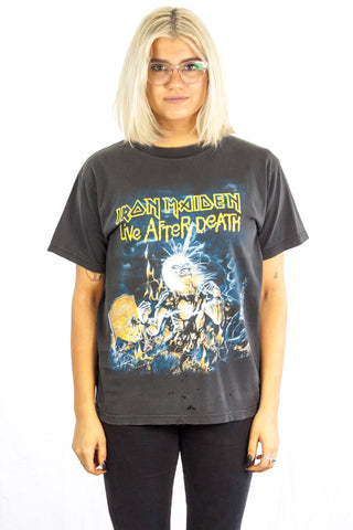 Iron Maiden Life After Death T Shirt