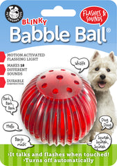 Blinky Babble Ball® Interactive Dog Toy