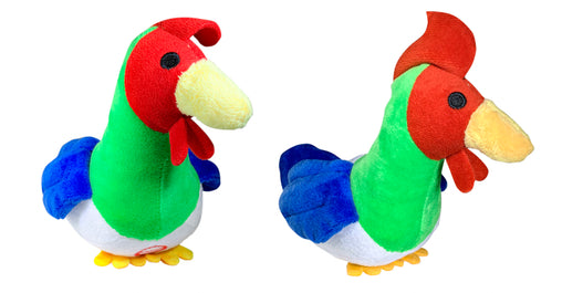 Pet Qwerks Crowing Rooster with Electronic Sound Plush Dog Toy - Pet Qwerks | Interactive Dog Toys
