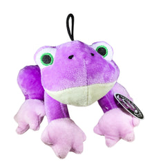 Pet Qwerks Croaking Frog with Electronic Sound Animal Stuffed Plush Dog Toy - Pet Qwerks | Interactive Dog Toys