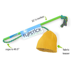 FLiPSTiCK™ Chase and Tug Interactive Dog Toy - Pet Qwerks | Interactive Dog Toys