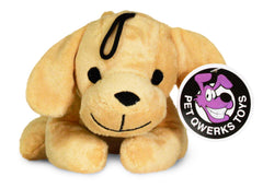 Pet Qwerks Panting Puppy with Electronic Sound Animal Stuffed Plush Dog Toy - Pet Qwerks | Interactive Dog Toys