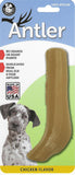 Chicken Flavored Nylon Antler Dog Chew Toys, Made in USA