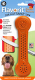 Flavorit Bone Sweet Potato Flavor Infused Dog Chew Toy, Made in USA