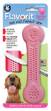 Flavorit Bone Bubble Gum Flavor Dog Chew Toy, Made in USA